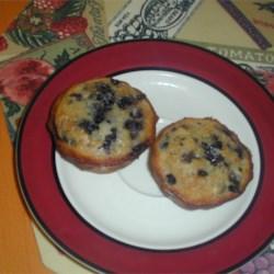 blueberry muffins!! mmm..........