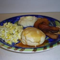 Biscuits are the focus (Big Breakfast)