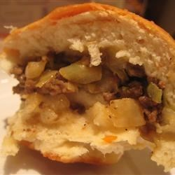Pam's Bierocks Recipe - A German dish, these are sweet dinner rolls stuffed with ground beef, onion, and cabbage.  A great alternative to the Finnish pasty!