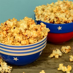 Sweet and Sassy Popcorn Recipe - Cayenne pepper and honey make great partners in taking your bag of microwaved popcorn to a delightfully sweet-and-spicy place.