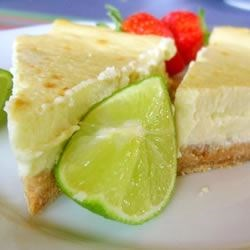 Key Lime Cheesecake I Recipe - My favorite dessert to make has to be cheesecakes. This is just one of many that gets a lot of requests. It is sweet and tangy just like its more familiar cousin, the pie. I usually serve it with whipped cream and lime slices. Enjoy!