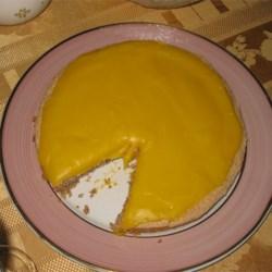 Norwegian Hazelnut Cake with Cream topping