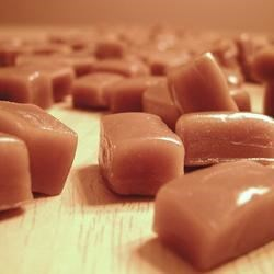 Chewy Caramel Recipe - Rich, chewy caramel to individually wrap or use in candy making.