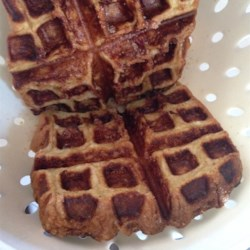 Cinnamon and Sugar French Waffle Toast Recipe - It's so easy to make French toast from scratch, then cook it golden brown in a waffle iron! Serve with butter, syrup, or jam.