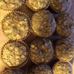 Healthy Pumpkin Zucchini Muffins