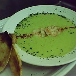 Avocado Shrimp Bisque