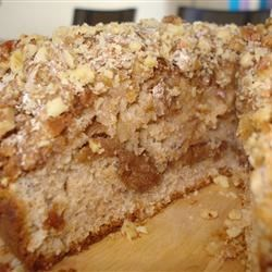 Sour Cream Coffee Cake III Recipe - This cake is so moist. Enjoy it with a delicious cup of tea or coffee in the morning.
