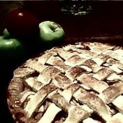 Lattice-Topped Apple (Cranberry) Pie