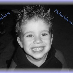 My oldest Zachary november, 2005