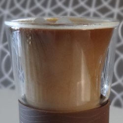 Pumpkin Spice Coffee Syrup Recipe - Make your own flavored syrup using pumpkin pie spice and pumpkin pie filling to make pumpkin spice lattes just like you know who.