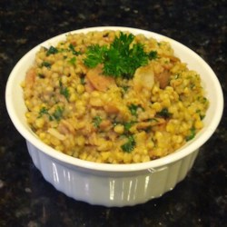 Buckwheat and Bacon Side Dish