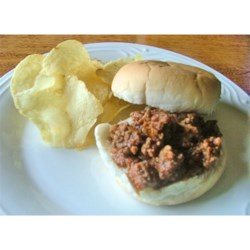 Seven Flavor Hamburger Recipe - This ground beef and vegetable mixture in a tomato based sauce is wonderful served on hamburger buns, but equally good over noodles.