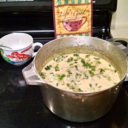 Marion's Super Easy Corn Crab Bisque