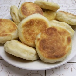 English Muffins in the Morning