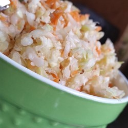 Sassy Freezer Slaw Recipe - Enjoy a tangy coleslaw anytime with this sassy freezer slaw made with cabbage and apple cider vinegar.