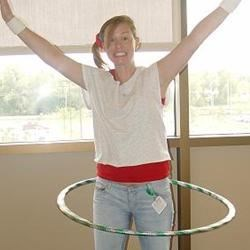 80's Day Hula Hoop Action!
