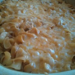 KGEMINIGRL's SPAM(R) Casserole Recipe - People always doubt this creamy pasta recipe until they try it! Everybody asks for the recipe, and seconds. My mom used to make it for me and it's become a regular in my family too.
