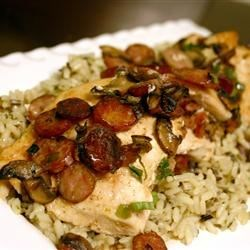 Creolized Stuffed Chicken Breasts