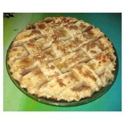 Green Tomato Pie III Recipe - Tastes like the best apple pie you have ever had. Make people guess what it is! They will want another slice.