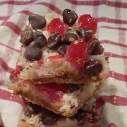 Cherry Magic Cookie Bars
