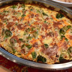 Broccoli Quiche with Mashed Potato Crust Photos - Allrecipes.com