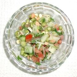 Spouted Lentil Salad