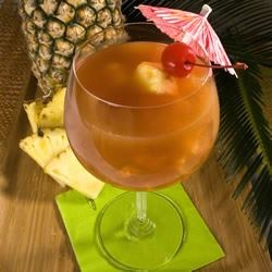 The Perfect Mai Tai Recipe - The perfect Spring or Summer drink. Tried and tested for over 12 years now. and always a crowd favorite!  This recipe yields one gallon!! Use a 1 gallon sun tea jar for serving!