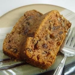 Applesauce Cake I Recipe - A quick and easy cake--we eat it for breakfast at our house.