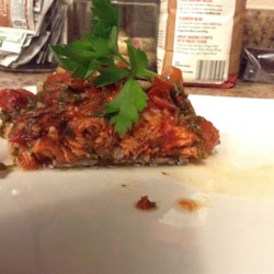 Baked Trout Saratoga