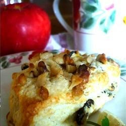 Raisin Walnut Scone
