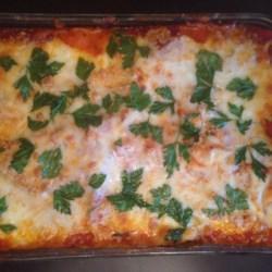 Healthier Eggplant Parmesan II