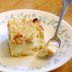 Polish Rice Cake Recipe - An old Polish recipe made with cream cheese and rice.