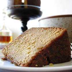 Two Ton Bourbon Pecan Cake Recipe - Fragrant with vanilla and nutmeg, and loaded with brown sugar and pecans, this cake is further fortified with hefty rounds of bourbon.