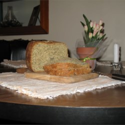 Garlic Bread Recipe - This is a fragrant and tasty bread machine recipe.