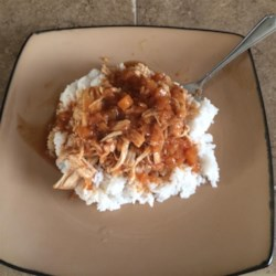 Pressure Cooker Teriyaki Chicken Recipe - Chicken thighs, crushed pineapple, cider vinegar, soy sauce, and spices are cooked in the pressure cooker for delicious teriyaki chicken in less than an hour!