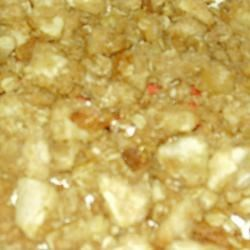 Streusel Apple Pie Topping