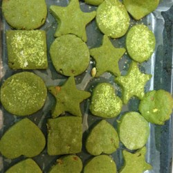 Matcha Green Tea Chocolate Chip Cookies Recipe - White chocolate chip cookies get a fun green twist with the addition of matcha green tea powder to the mix.