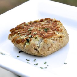 Fish Friday Tuna Burgers Recipe - A pouch of tuna and a few simple ingredients combine to make tasty, budget-friendly tuna burgers.