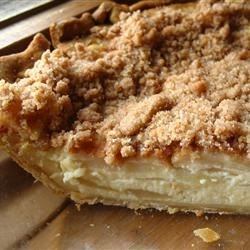 Sour Cream Apple Pie Deluxe Recipe - This is a delicious recipe combining apples, sour cream, sugar and a few others--to make a scrumptious dessert.  I highly recommend that you use a high quality sour cream-it really does make the difference.