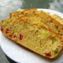 Jalapeno Green Onion Ale Corn Bread Recipe - This corn bread recipe uses beer, buttermilk, green onion, and jalapeno pepper.