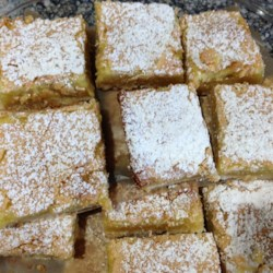 Best Ever Lemon Squares (Gluten-Free) Recipe - Gluten-free lemon bars made with rice flour and gluten-free oat flour tastes so much like the real thing that no one will even know the difference.