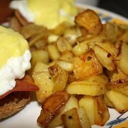 Quick and Easy Home Fries Recipe and Video - A quick way to make crispy home fries. Great for breakfast or as a side dish.  Potatoes may be shredded and cooked in the same manner for crispy hash browns.