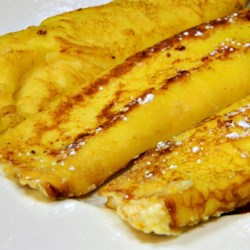 Orange Blintzes