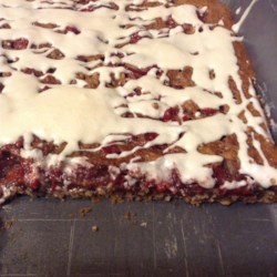 Cherry Chews Recipe - A delicious square popular in our family during the holidays.