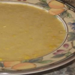 Creamy Corn With Cumin Soup