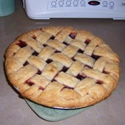 Cherry Pie III with Cranberries