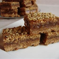 Pecan Pie Bars II Recipe - Quick and easy holiday treat. Originally submitted to ThanksgivingRecipe.com.