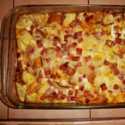 Alisha's Scalloped Potatoes and Ham