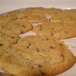 Peanut Butter Chocolate Chip Cookies II Recipe - Peanut butter and chocolate chip cookies made with natural peanut butter and kosher salt.