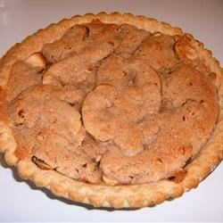 Swedish Apple Pie Recipe - This juicy apple pie has a crumble topping consisting of pecans, cinnamon and sugar. The pecan topping makes this pie different from most traditional apple pies.